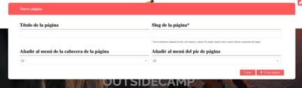 pagina nueva
