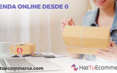 ¿Cómo crear una tienda online desde 0?
